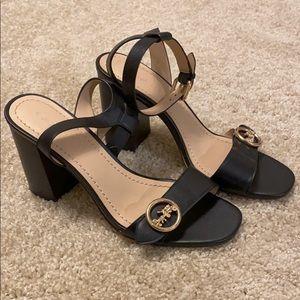 Coach Women's Maddi Sandal black size 8